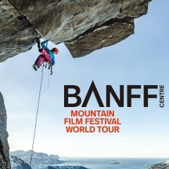 BANFF MOUNTAIN FILM FESTIVAL 2017 JAPAN TOUR in 朝日町