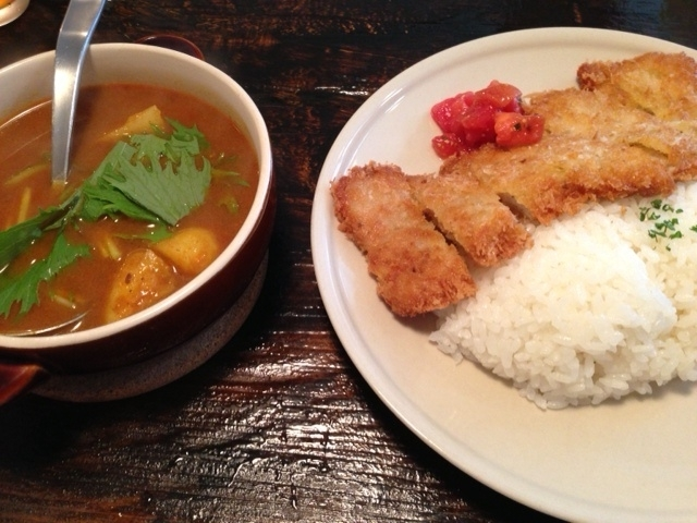 カツレツ on the curry