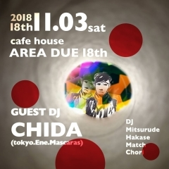 AREA DUE 18th DJ CHIDA