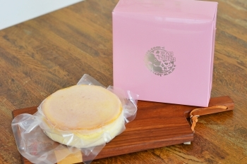 LOVE AND CHEESEのチーズケーキをご自宅で「GALLERY&CAFE Msギャラリー12番丁」