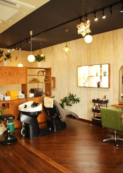 「hair shop Luar」