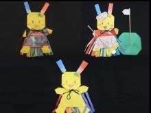 狭山市公式キャラクターおりぴぃの折り方