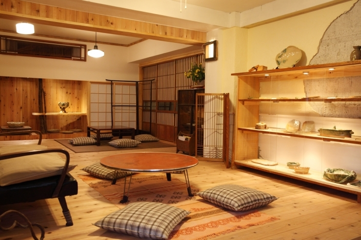 陶器ギャラリー・隠れ家和菜 たまり