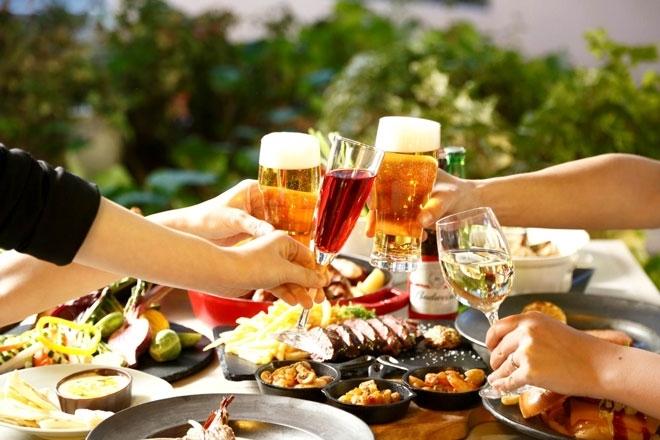 【樽生&輸入ビールに合う料理がズラリ】ANAクラウンプラザホテル クラウンカフェ/ビアテラス