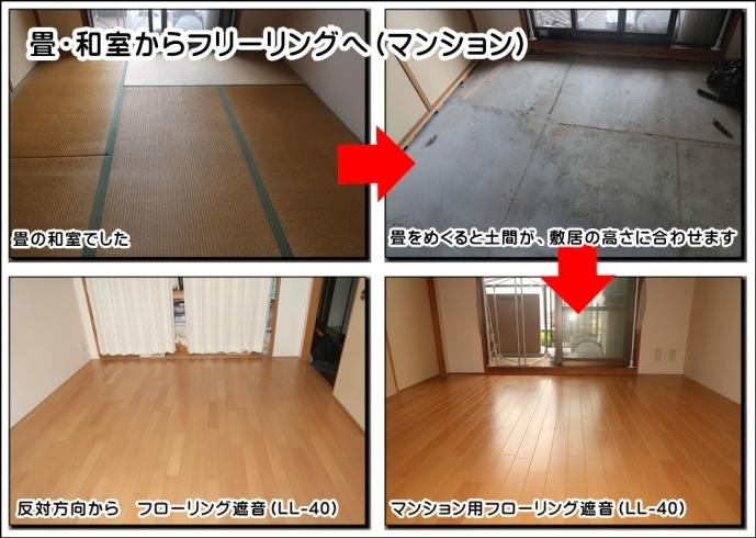 畳 から フローリング リフォーム