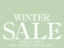 109 WINTER SALE【SHIBUYA109ABENO】