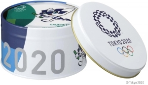 東京風月堂「東京2020オリンピックマスコットゴーフレット」
