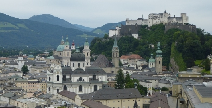 Salzburg Austria in the last golden days of the Thirties