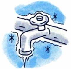 「水道 凍結」の画像検索結果