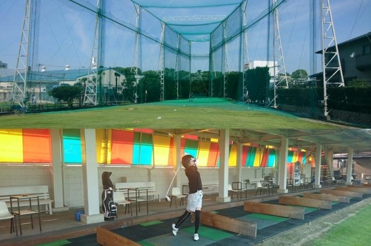 ゴルフ練習場 バイト