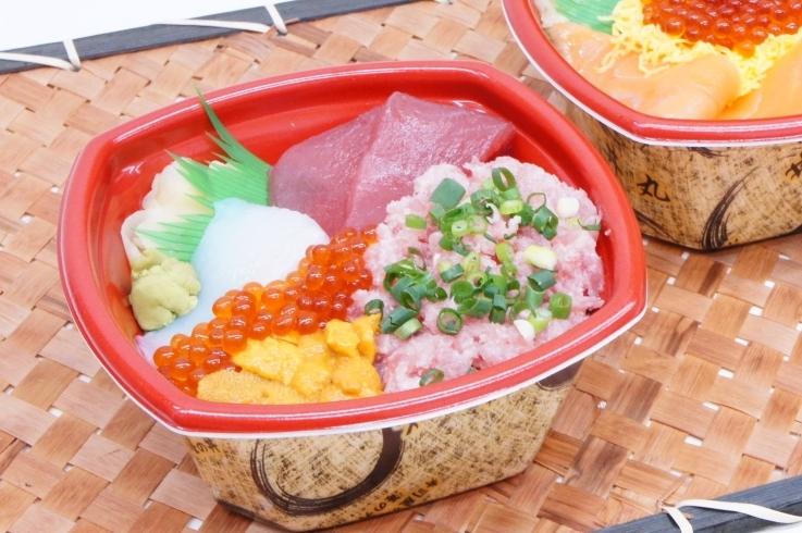 小松丼丸 若杉店//お手軽価格の海鮮丼お持ち帰り専門店