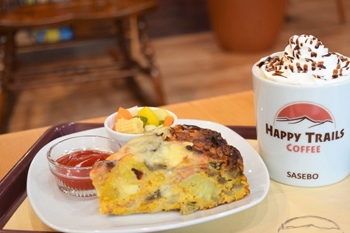 「HAPPY TRAILS COFFEE」