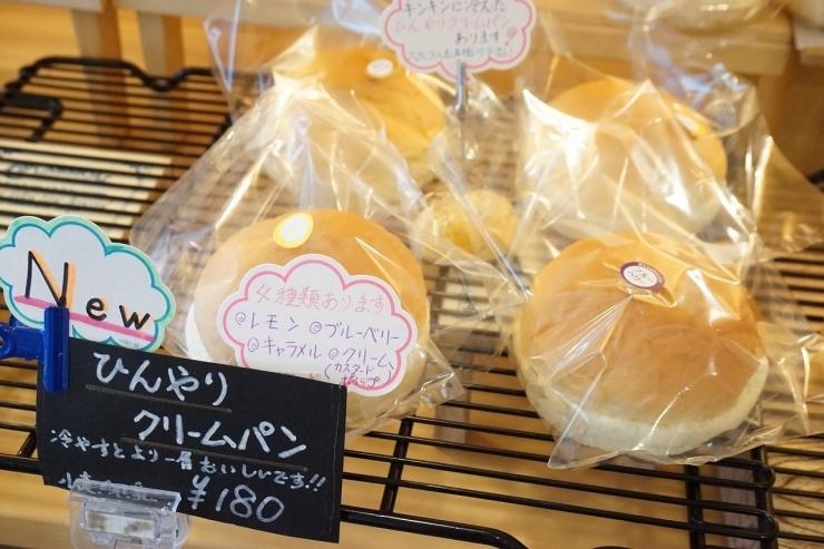 パン工房 ぱん田屋 ひんやりクリームパン