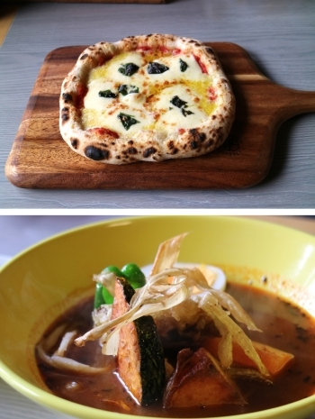 pizza soupcurry「和洋食道 Ecru」
