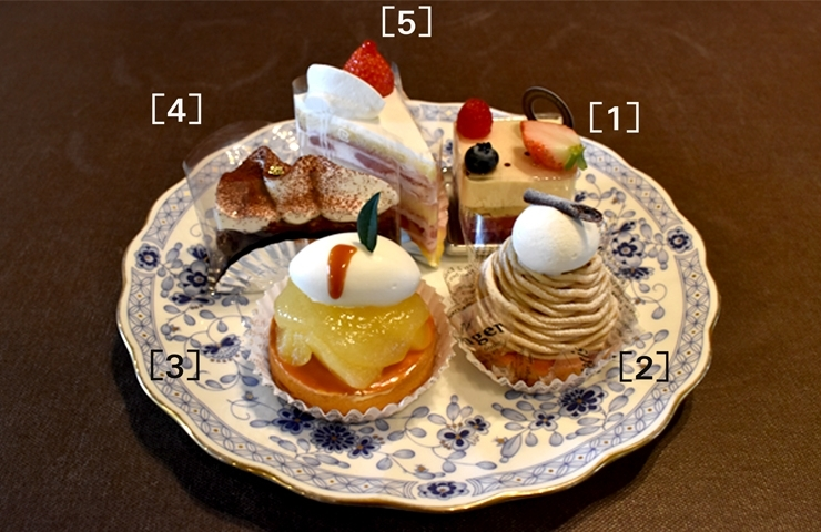 八戸プラザホテル【ラウンジいちい】 ♪おすすめスイーツ♪