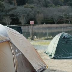 龍岡キャンプ場で冬キャンしてきた。