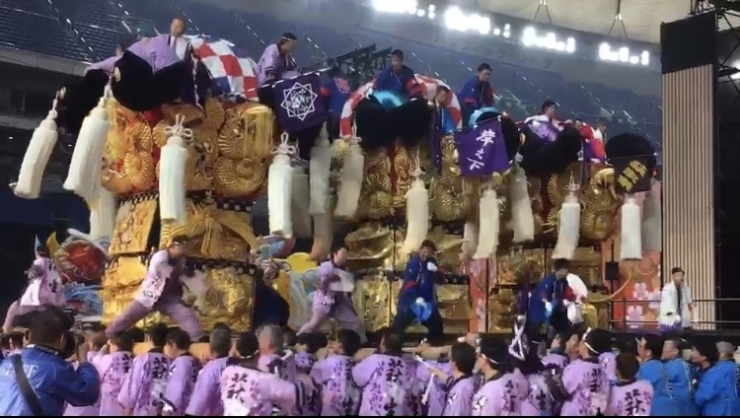 新居浜 太鼓 祭り 2020