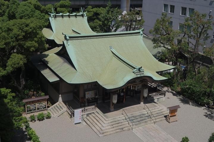 [寺社仏閣]坐摩神社【本町】