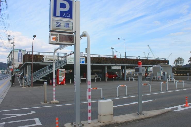 駅前港湾駐車場