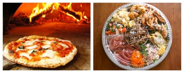 Nostra pizza Suolico//薪窯を使った本格派ピザ屋さんのテイクアウトメニュー