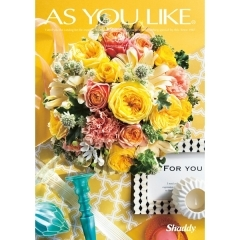 AS YOU LIKE 洋風表紙 2,800円コース