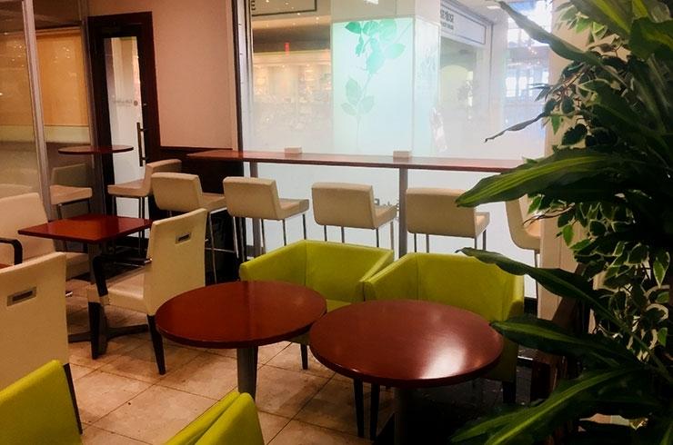 カフェ・ド・フォーレ、アリコベール店