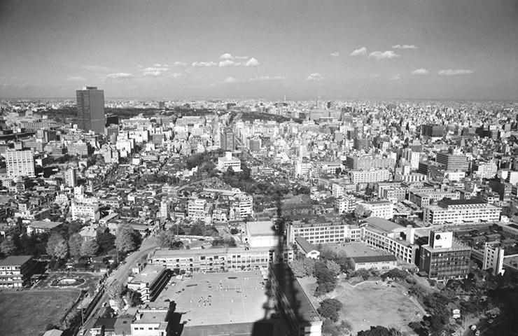 1970年(昭和45年)の東京タワーからの景色と東京各所 | 昭和 ...